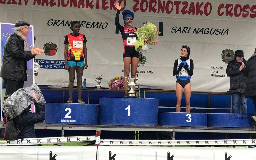 Trihas Gebre, primera gran victoria en Zornotza