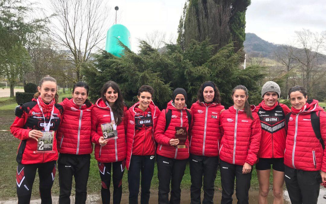 El BM Bilbao revalida el título vasco de cross largo