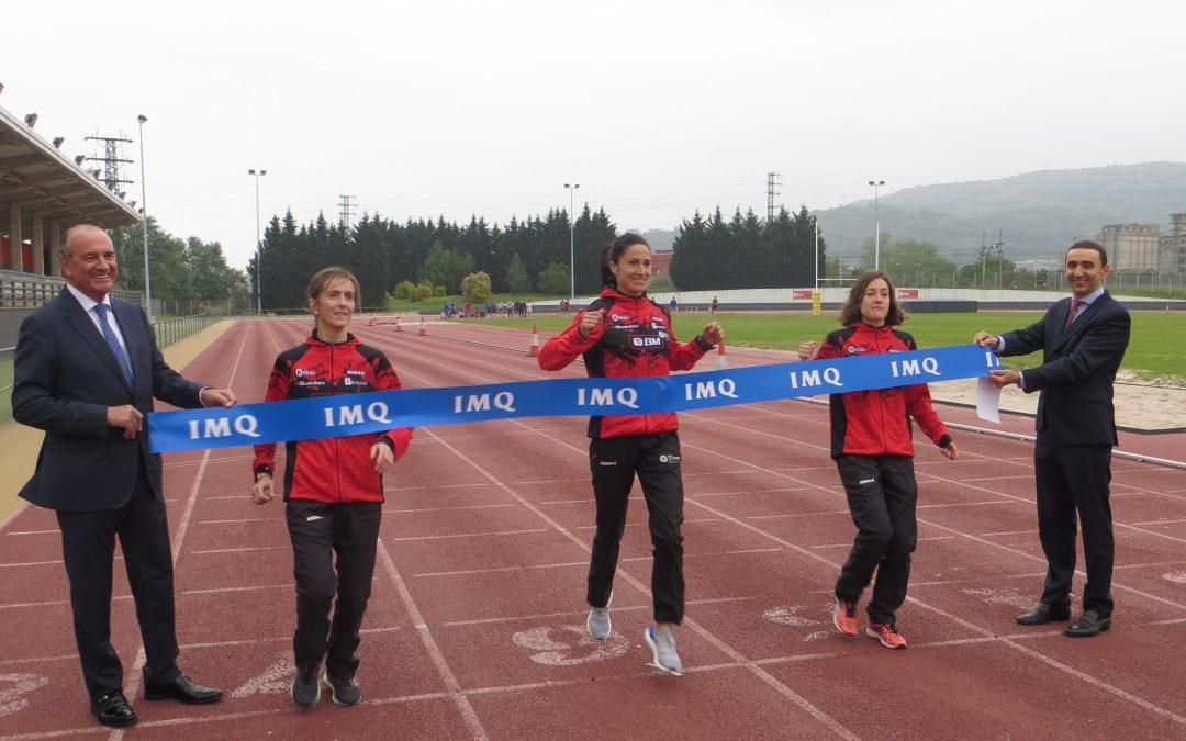 IMQ se vuelca con el deporte femenino convirtiéndose en la aseguradora médica oficial del Club Bilbao Atletismo Santutxu