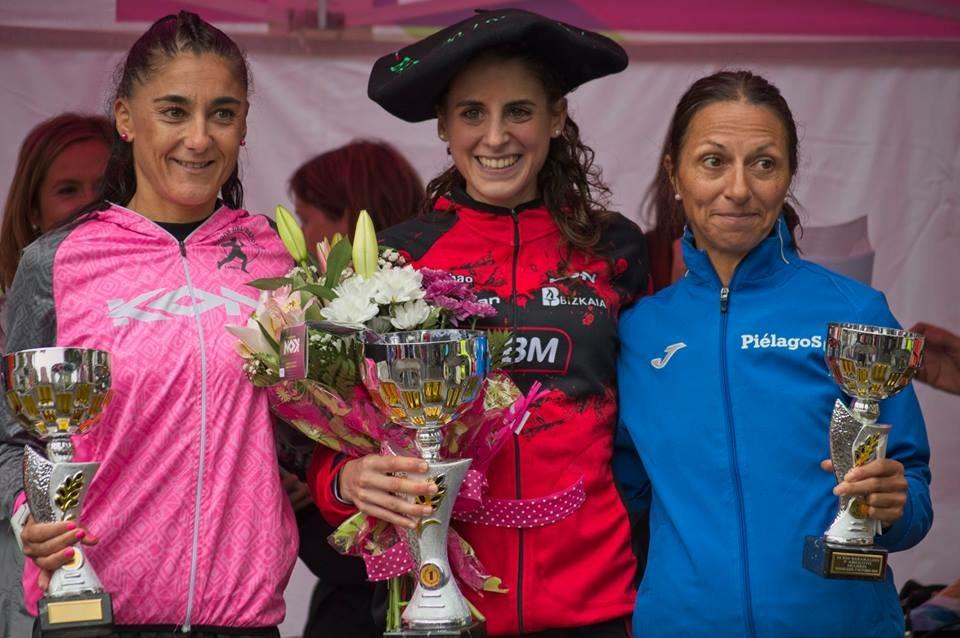 Natalia Gómez y Diana Martín vencen en Barakaldo y Aranda