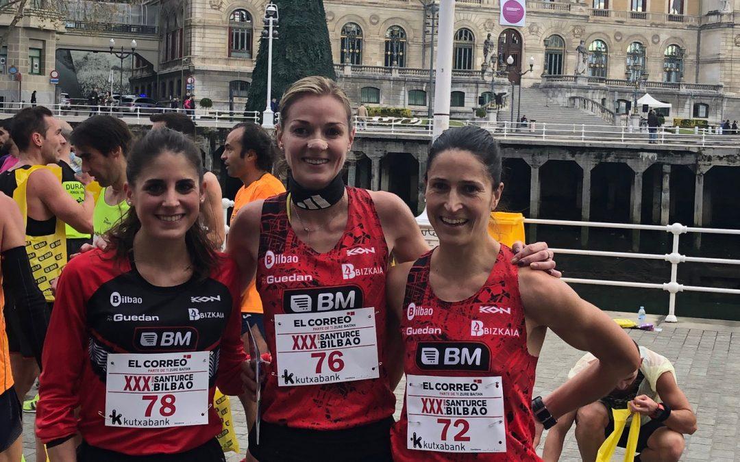 El BM Bilbao domina el barro y el asfalto