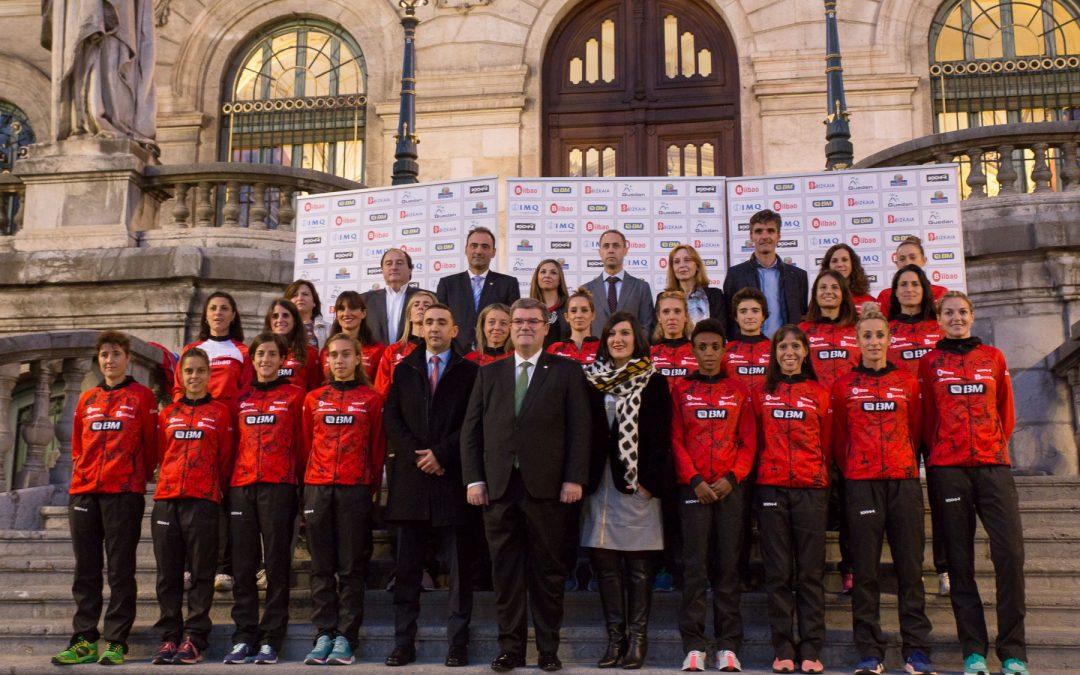 El club Bilbao Atletismo Santutxu y su equipo de élite BM Bilbao, preparados para nuevos retos