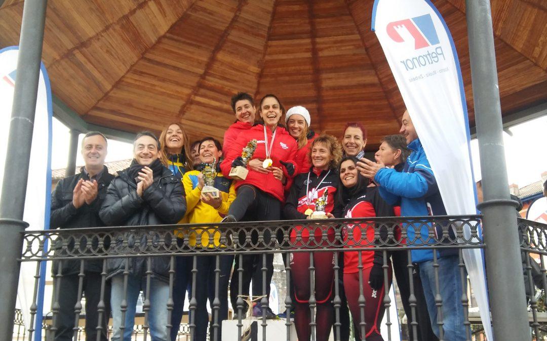 Las master del BM Bilbao, en lo más alto del podio de Bizkaia