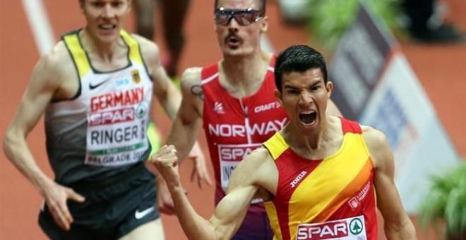 El líder europeo de 3.000 metros Adel Mechaal regresa para intentar ganar por tercer año consecutivo y atacar el récord del circuito
