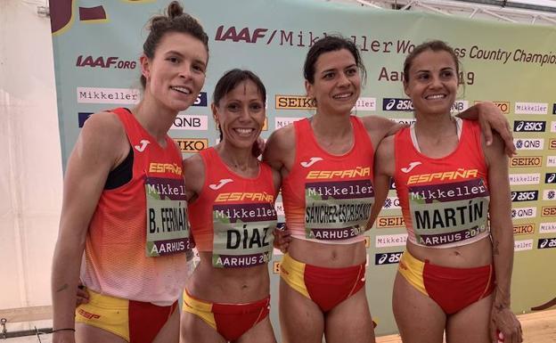 Las atletas del BM Bilbao superan la dureza del Mundial